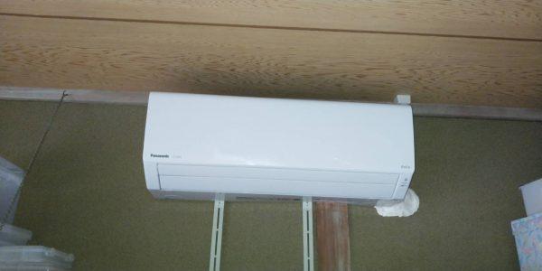 エアコンと専用回路電源工事サムネイル