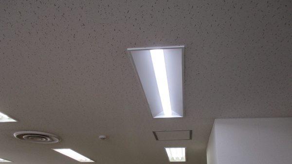 別府市立図書館 照明器具 取替工事サムネイル