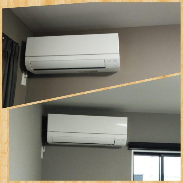 エアコン取付工事 4台の内2台表示 ②サムネイル