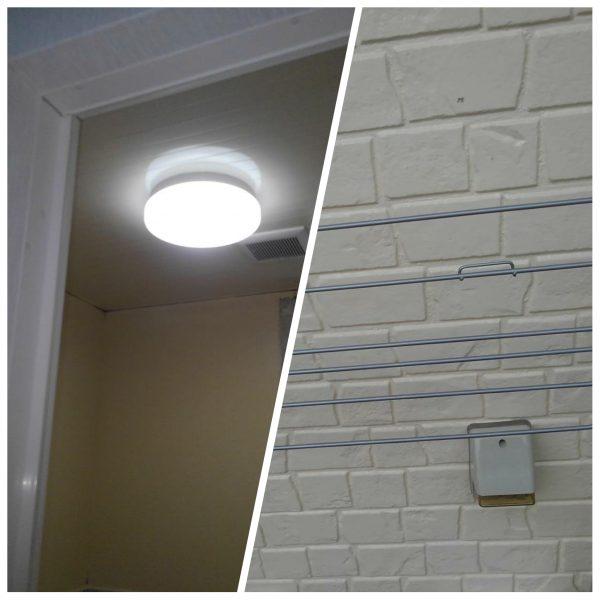 照明器具取替とコンセント取付サムネイル